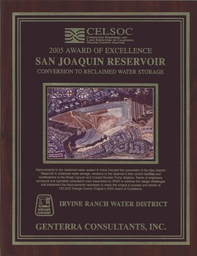 CELSOC Award of Excellence San Joaquin